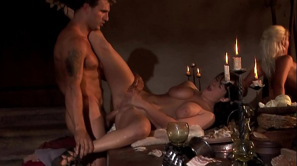 Court orgy at the king's dinner